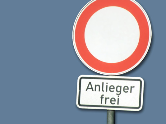 Anlieger?
